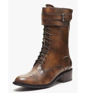 New Cole Haan Nike Air Joey Lace Up Combat Boots